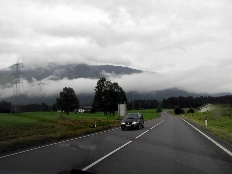 מצגת שלישית של חופשה  באוסטריה באלפים הטירולים הפעם בדרכים בחבל טירול