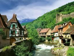 Kaysersberg village France