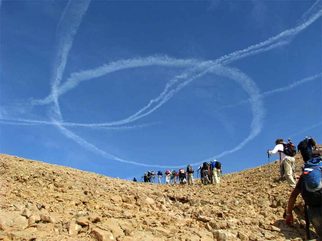 שביל ישראל מס 62-63 - מנחל חמדה עד מעלה שחרות