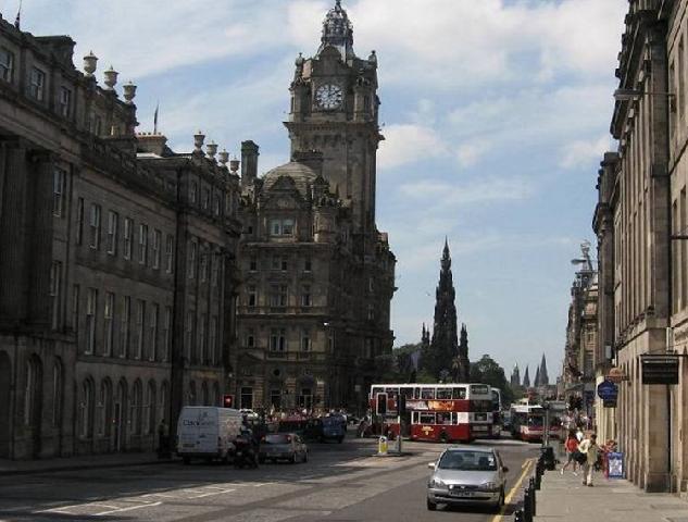 אדינבורו- בירת סקוטלנד