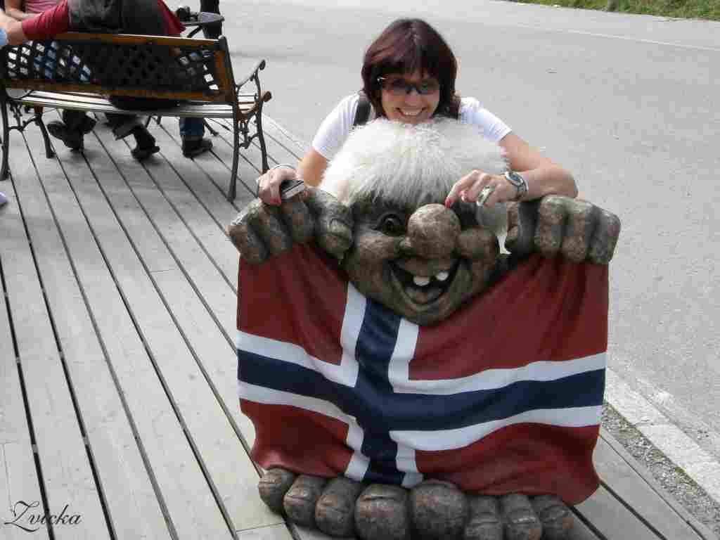 נורבגיה -Norway Fossatun Waterfall  & Oslo Holmenkollen  & Park vigeland 2008