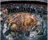 ציורי רחוב מדהימים בתלת מימד