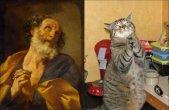 חתולים ואמנות