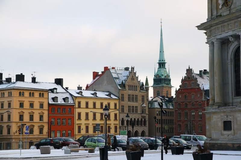 שטוקהולם בחורף