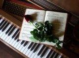 קטעי מוזיקה על פסנתר