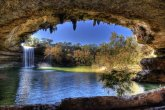 Lake Hamilton Pool in Texas