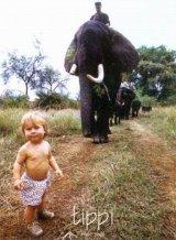 טיפי ילדה אפריקנית