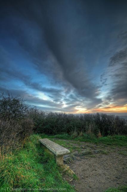 ספסל מול העולם - חלק בלתי נפרד מהנוף