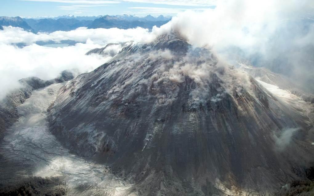 הר הגעש בצ`ילה.