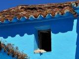 Blue Spanish village Juzcar