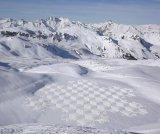 ציורי שלג עצומים