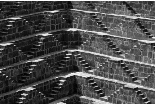 צ`אנד באורי - באר המדרגות של הודו