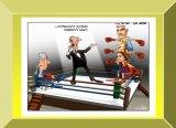 כנסת ישראל - קריקטורות