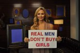 Real men don`t buy girls