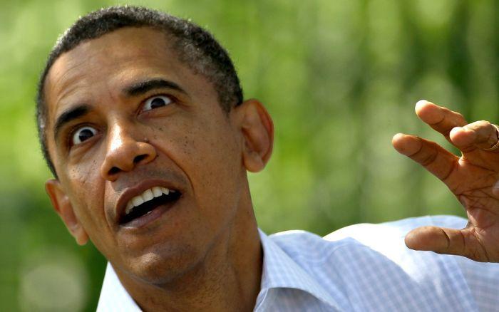 הבעות פנים של ברק אובמה