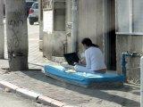 מנוחה נכונה, אנשים ברחוב במצבי מנוחה