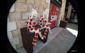 הומור וסתירה באומנות רחוב