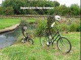 מיחזור אופניים - פיסול באופניים