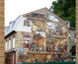 ציורי קיר מדהימים ברובע העתיק של קוויב