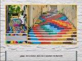 מדרגות מקושטות