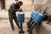 נשק מאולתר של המורדים הסורים