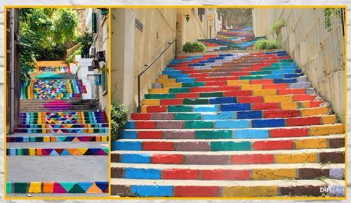 מדרגות והרבה