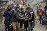 תמונות קשות מנפאל