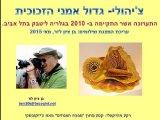 תערוכת צ'יהולי בתל אביב
