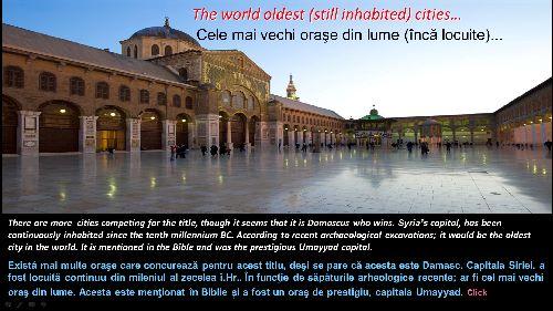 הערים המיושבות העתיקות ביותר בעולם