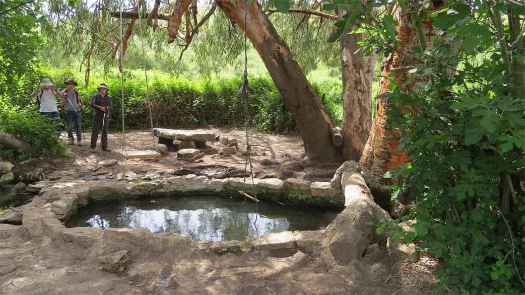 שביל רמות מנשה – מנחל רז עד לבית חנניה