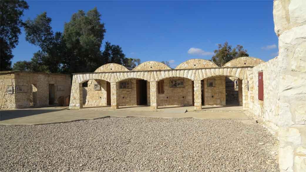 שביל סובב באר שבע - אתרים