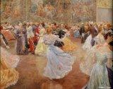 ריקודים סלוניים באומנות