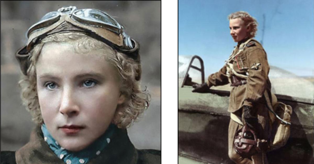 לידיה ליטבק - הטייסת היהודיה
